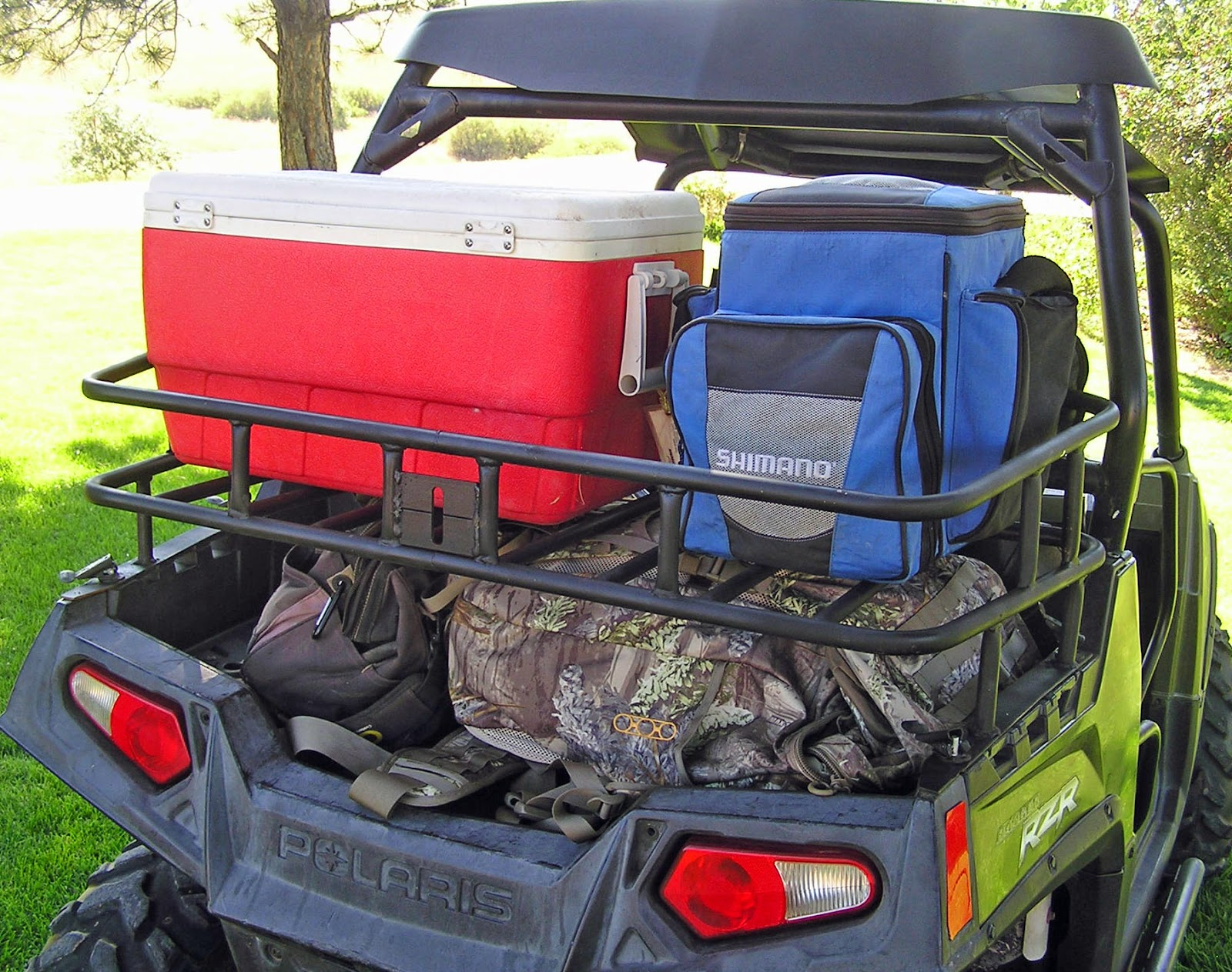 Hornet Outdoors Polaris RZR Storage Rack