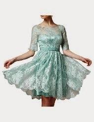 Mint Colored Bridesmaids Dresses