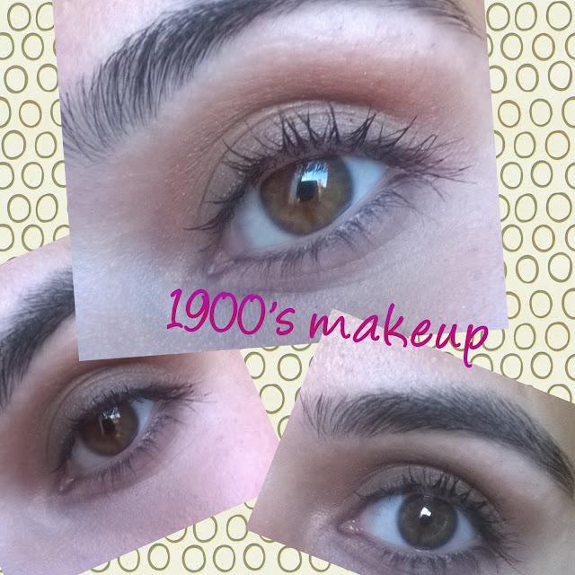 1900 lerde Makyaj-- Dönem Makyajları-- 1900's Makeup