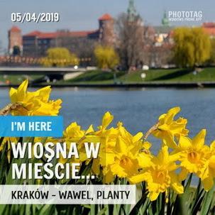 Wiosna w mieście czyli kwietniowy Kraków