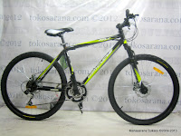 Sepeda Wimcycle Roadchamp RX 21 Speed Shimano EZ-Fire Shift Lever 26 Inci