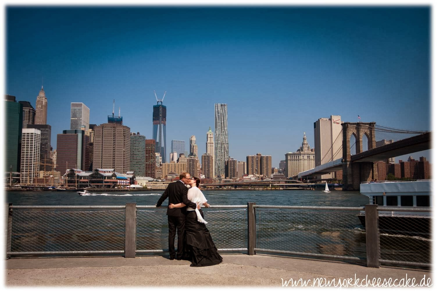 New York, heiraten, Brooklyn Bridge
