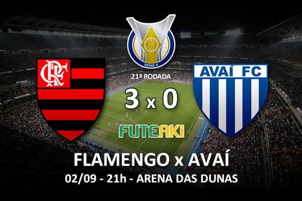 Veja o resumo da partida com os gols e os melhores momentos de Flamengo 3x0 Avaí pela 22ª rodada do Brasileirão 2015.