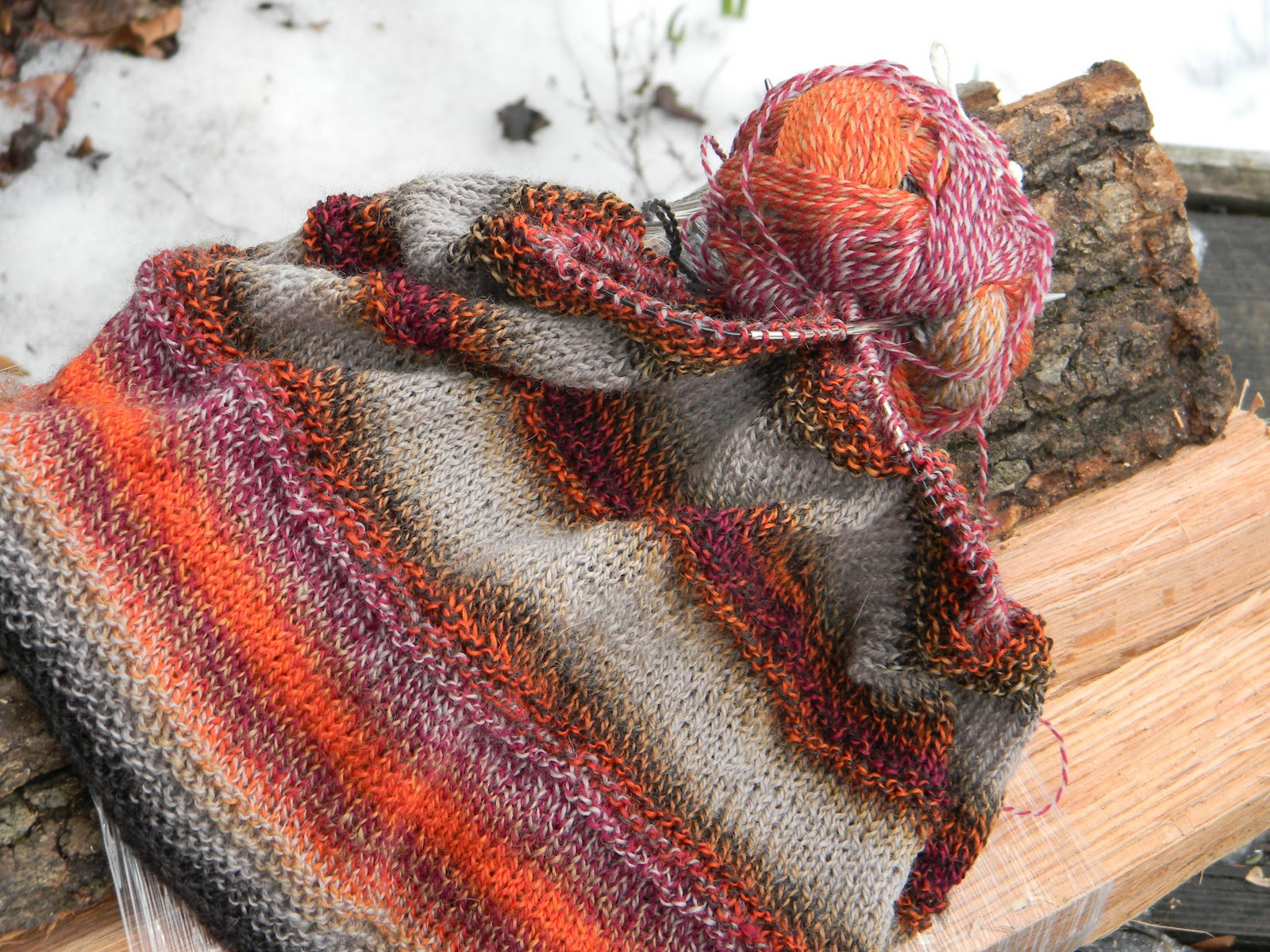 Knit Picky Blog: The Aaron Cowl ~ A Free Pattern from Knit Picky Designs