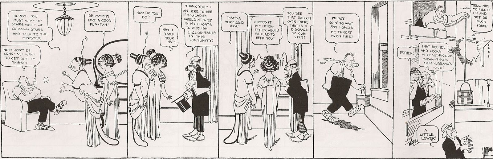 Quite Jiggs and maggie comic strip