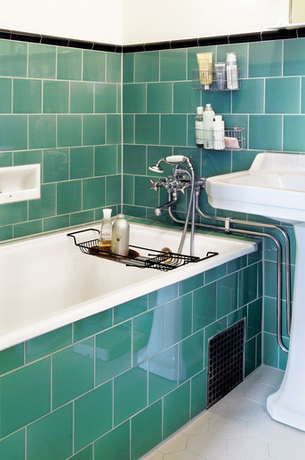 vicki brown designs: finding inspiration :: 1930's bathrooms ::, Badkamer