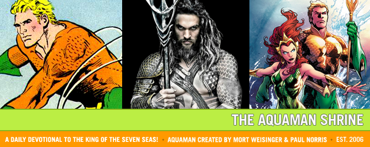 The Aquaman Shrine
