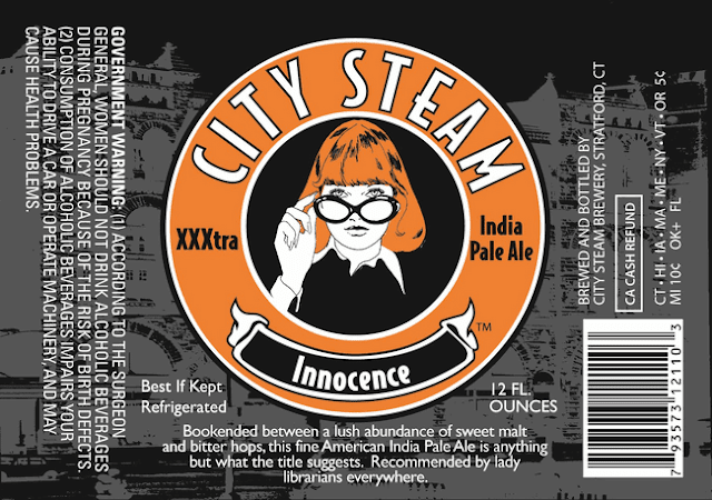 City Steam Innocence label design