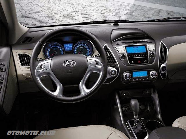 Dashboard Hyundai Tucson