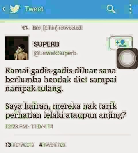 Tweet Lawak Lucu