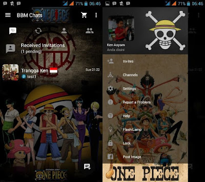 Preview BBM One Piece