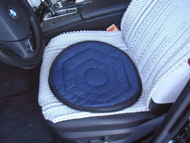 protex co car seat swivel cushion. Black Bedroom Furniture Sets. Home Design Ideas