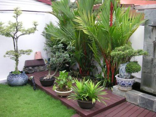 jardim quintal pequeno: Decoração: 12 Ideias para Decorar um Quintal ou Jardim Pequeno