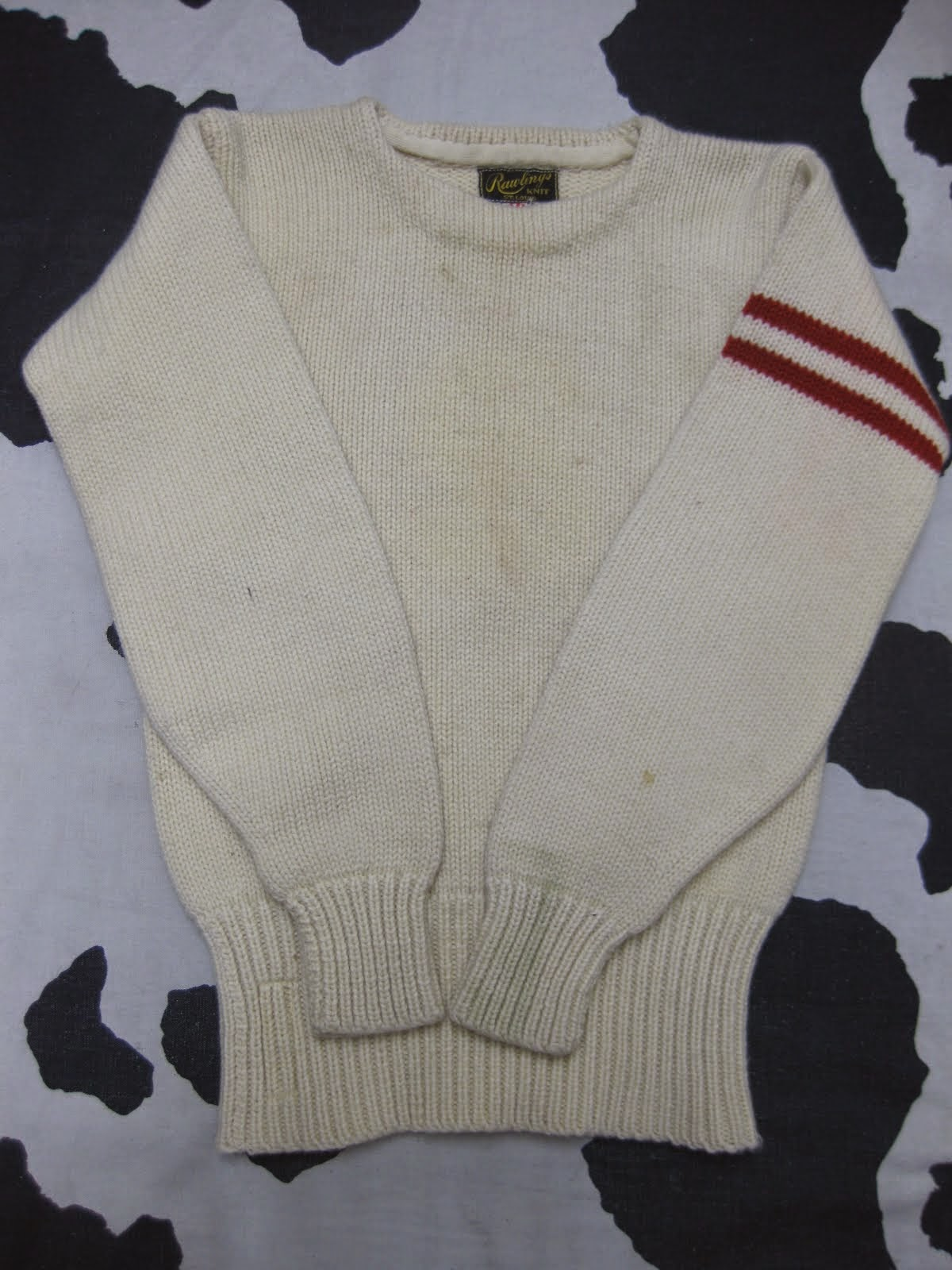 40's RAWLINGS               HEAVY KNIT