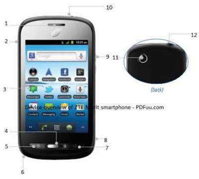 smartphone ZTE Merit