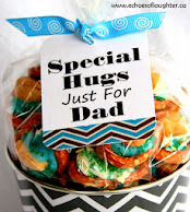 Cashew Pretzel Hugs For Dad