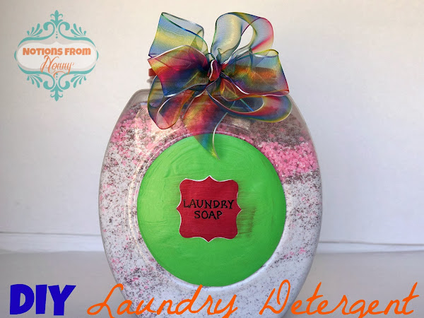 DIY Laundry Detergent Gift