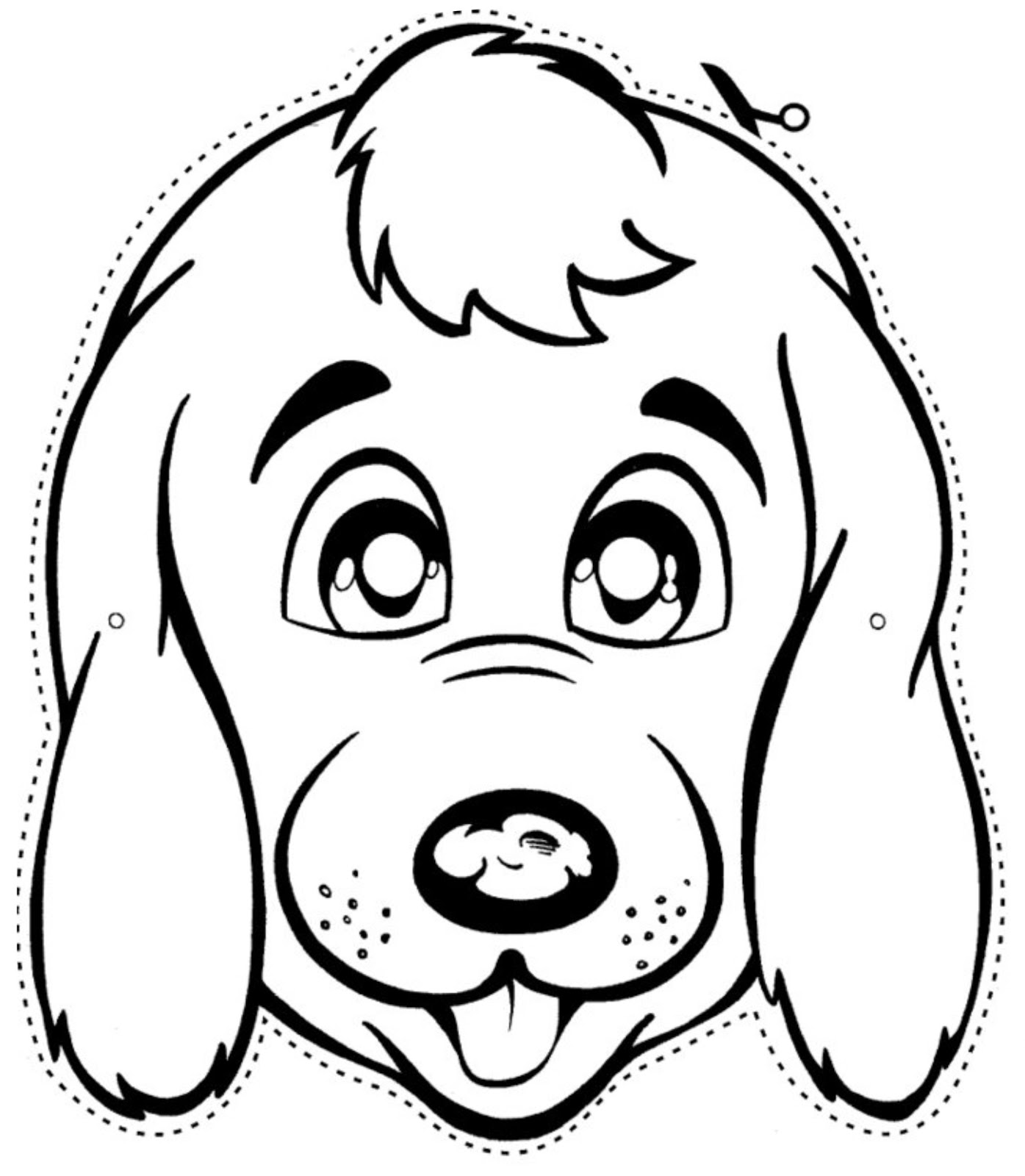 imagens de cachorrinhos para imprimir e colorir