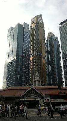 Сингапур - Лау Па Сат и Бизнес-район