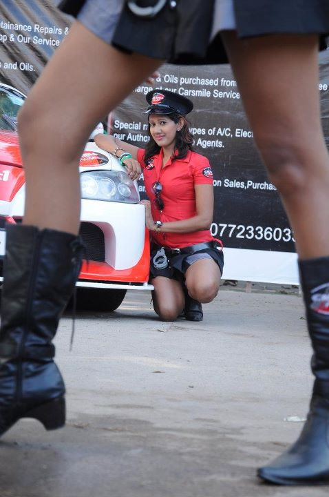 Hot Car Girls In Sri Lanka