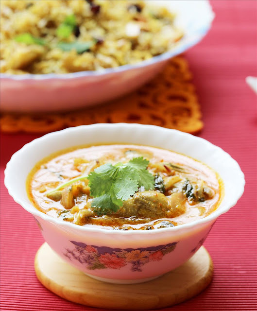 Mushroom Kurma