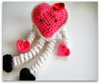 Heart Showers Beanie  Crochet Heart Hat Pattern  Free