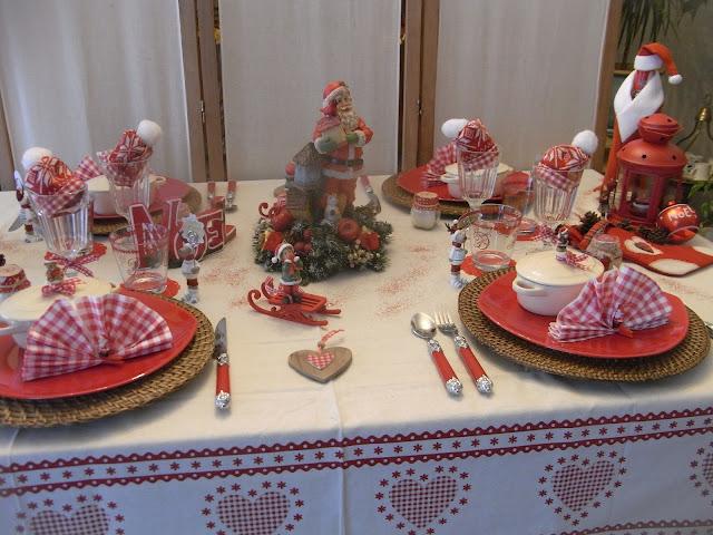 ambiances de tables de ftes pour s inspirer - Dco Nol