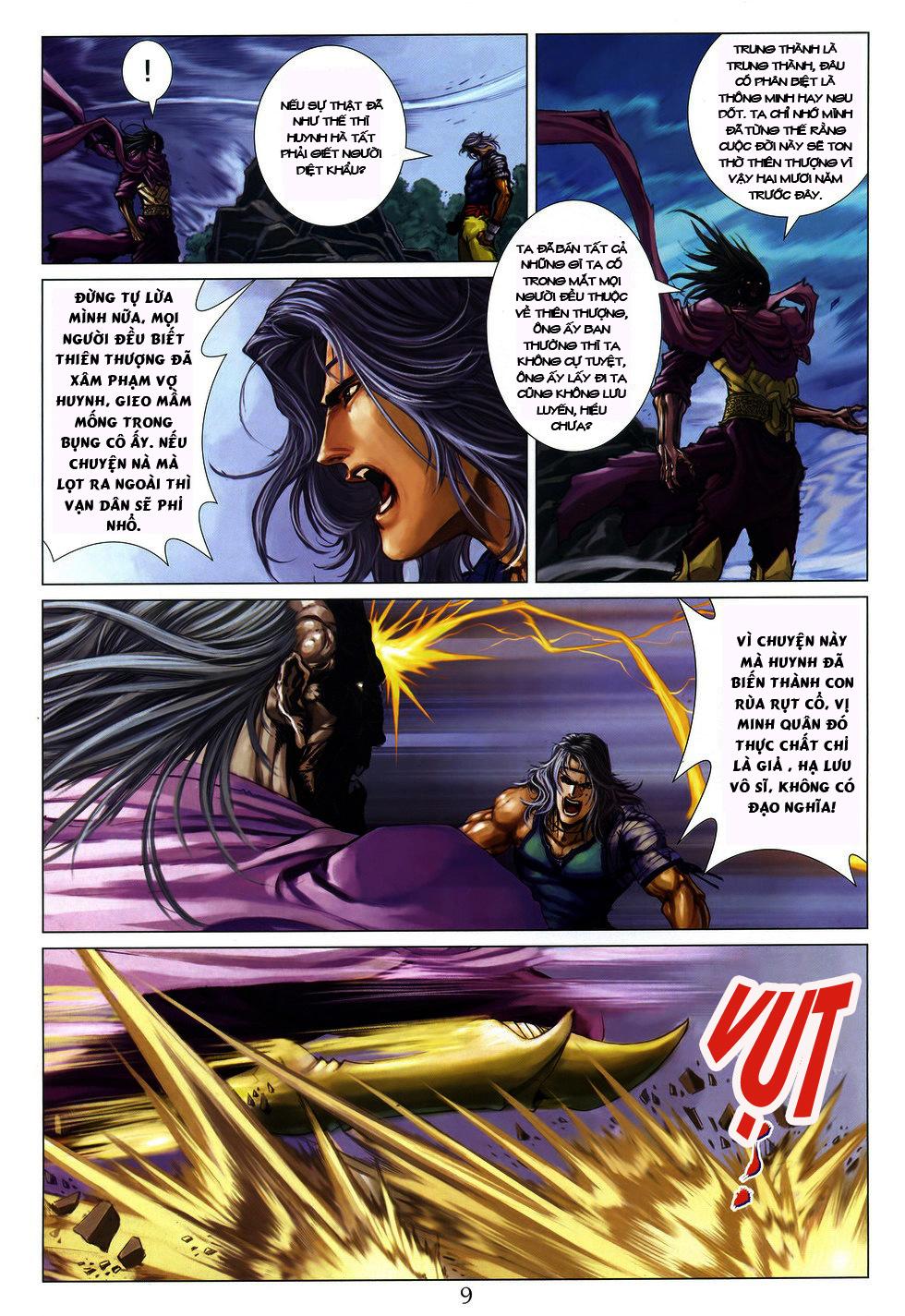 Tứ Đại Danh Bổ chap 222 Trang 9