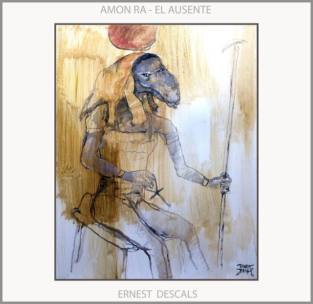 AMON-RA-ARTE-DIOSES-ANTIGUOS-EGIPTO-AUSENTE-ANUNNAKI-PINTURA-TEMPLO-ORACULO-SIWA-ARTISTA-PINTOR-ERNEST DESCALS-