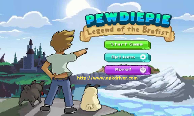 PewDiePie: Legend of Brofis Apk Logo