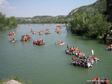 Barques festa Transegre al Pont de Escalera