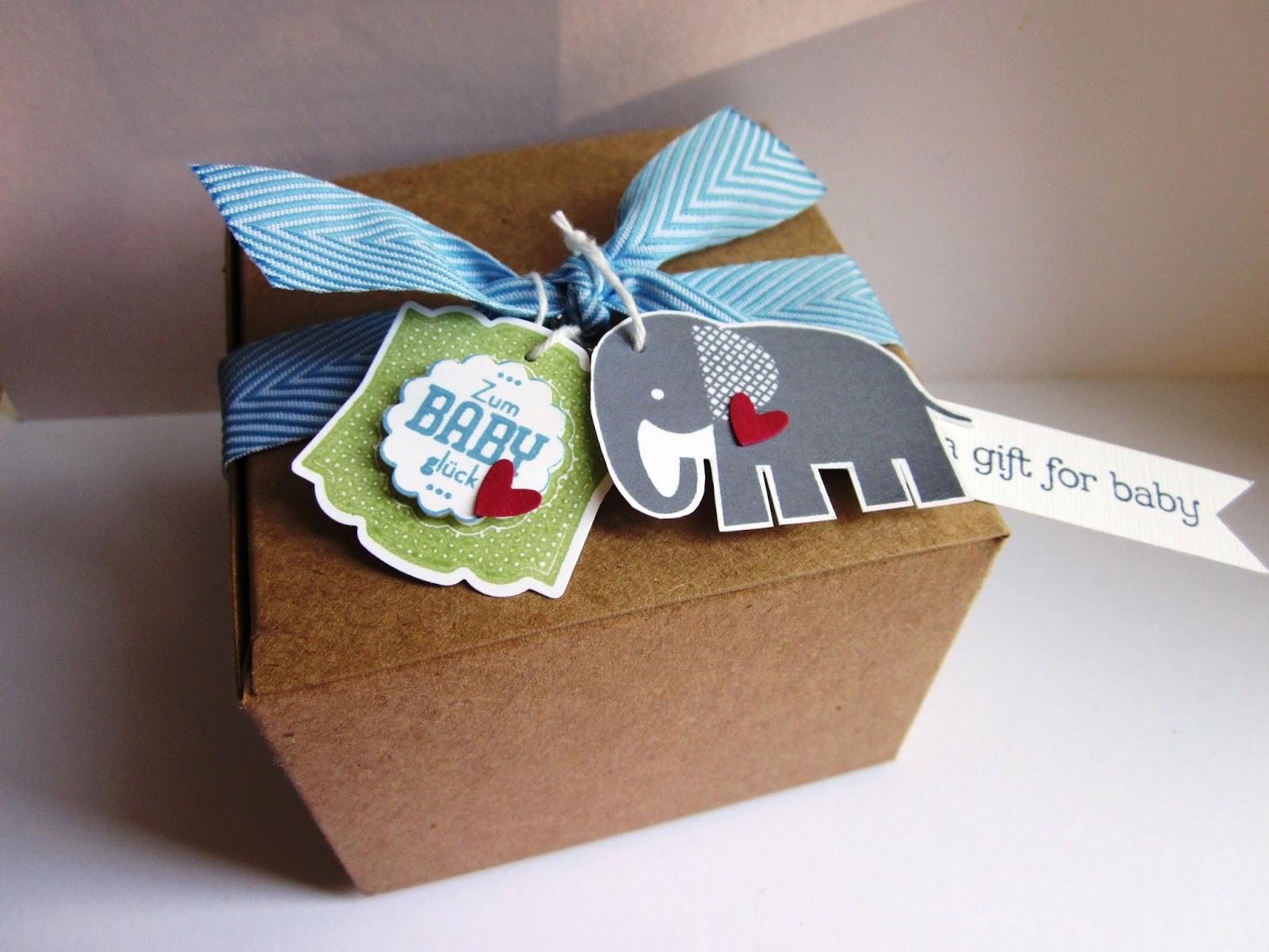 geschenkbox für baby