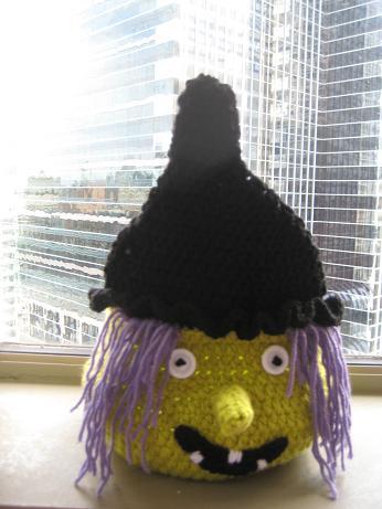 Crochet Dreamz: Boo Halloween Witch Basket ( Free PDF ...