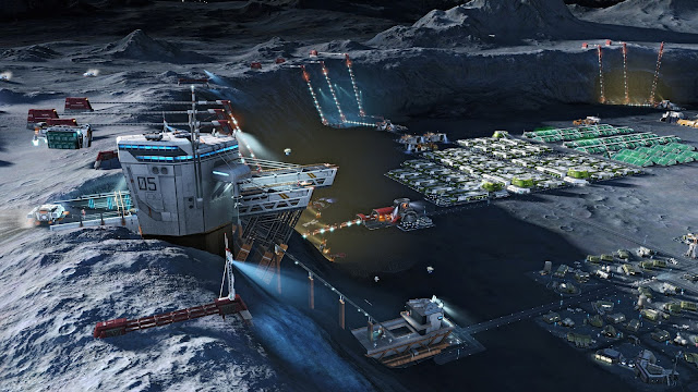 Screenshot of Anno 2205