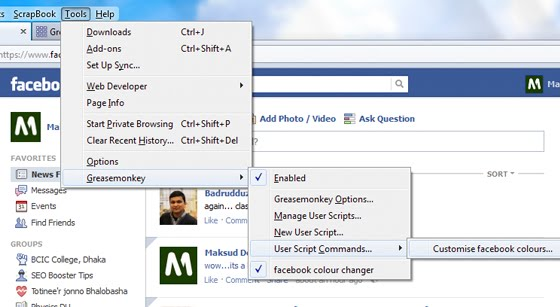descargar facebook colour changer