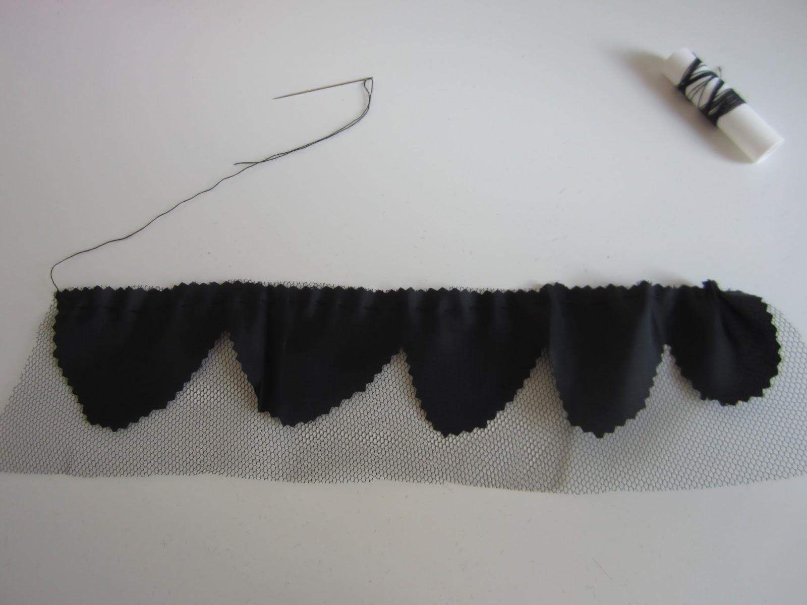 mis nancys, mis peques y yo, tutorial facil DIY tul y tela basta