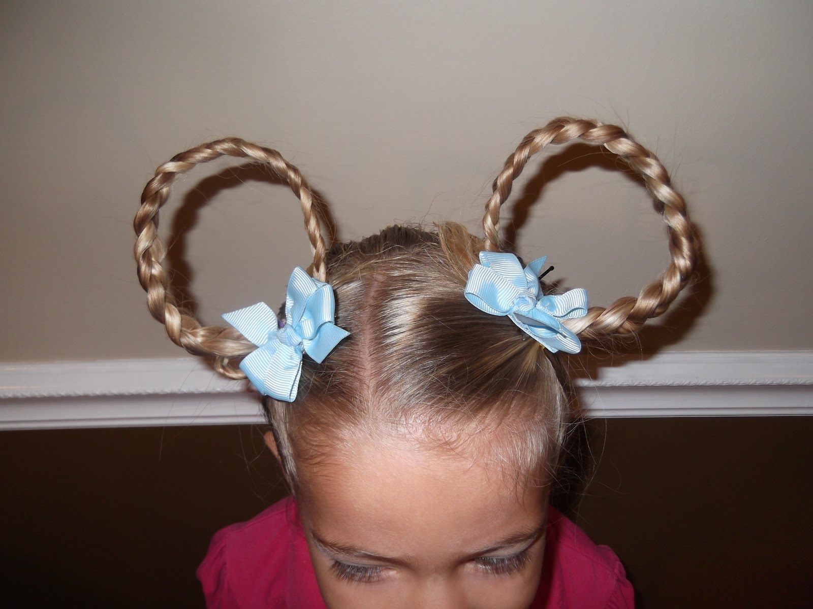 Shaunell's Hair: Little Girl's Hairstyles: Crazy Hair Day