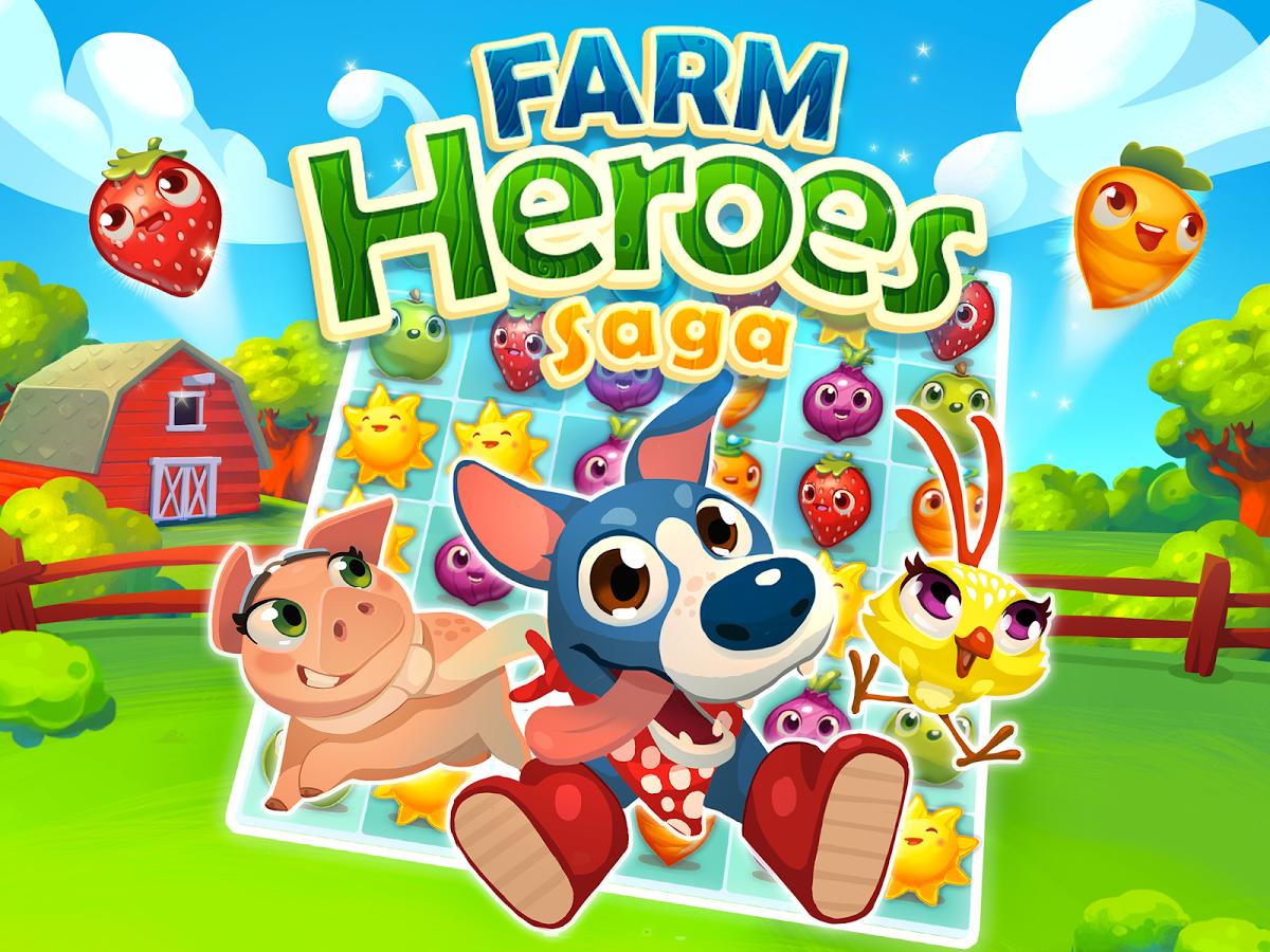 Farm Heroes Saga, juegos para niños