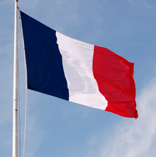 Original Live French Flag