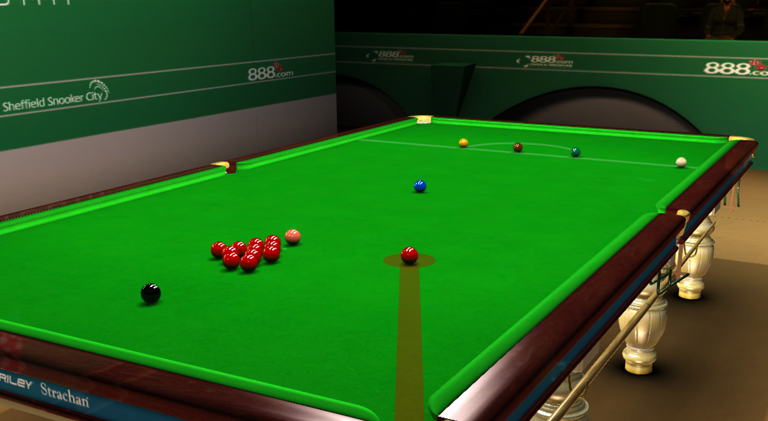 WSC Real 2009 World Snooker is indeed a good game that has mostly all