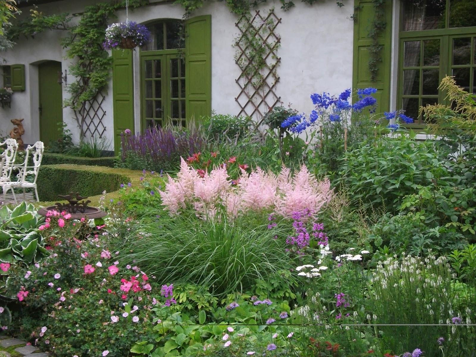 Gartenbuddelei der romantische garten von dina deferme - Romantischer garten ...