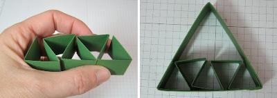 PAP 02 - Mini Árvore feita com dobradura de papel
