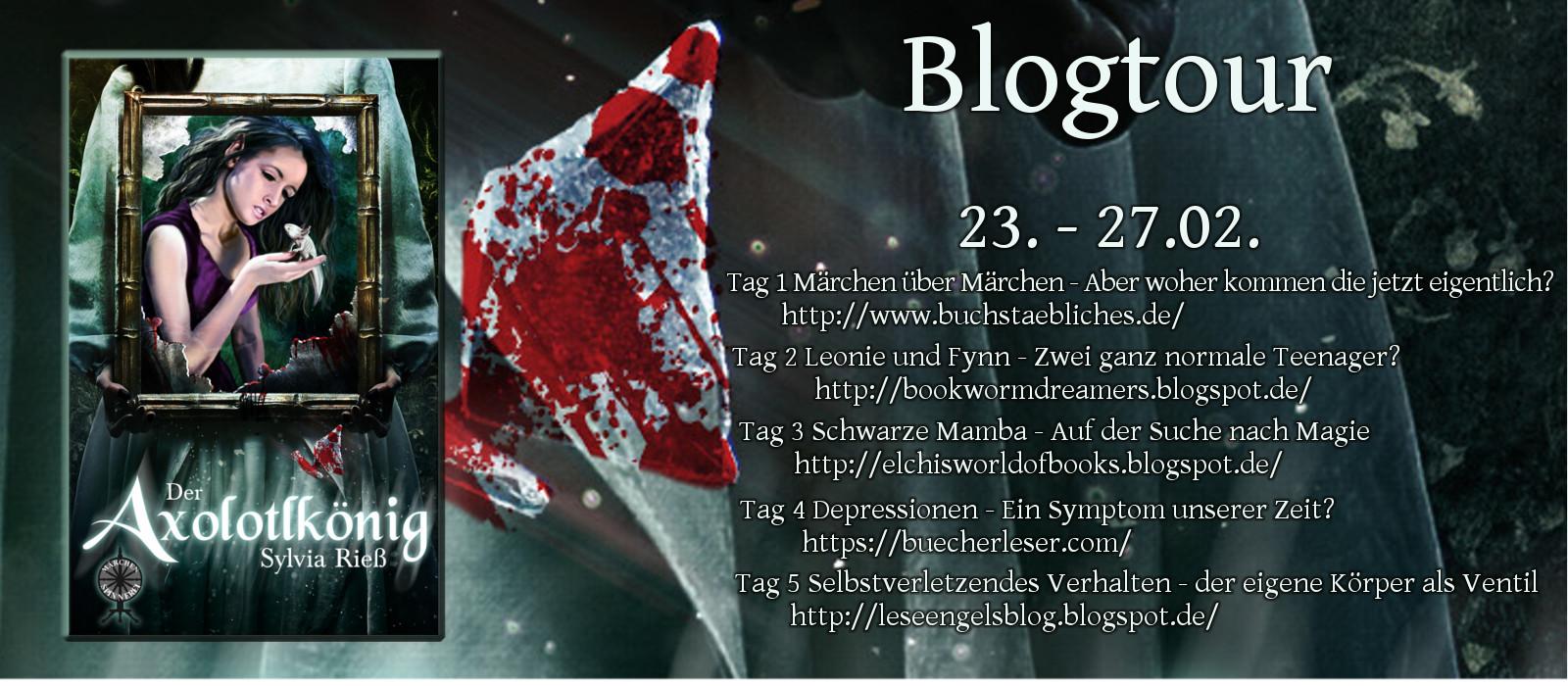Blogtour - Der Axolotlkönig (23.02. - 27.02.2017