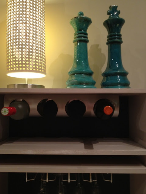 wine rack bookcase plans
