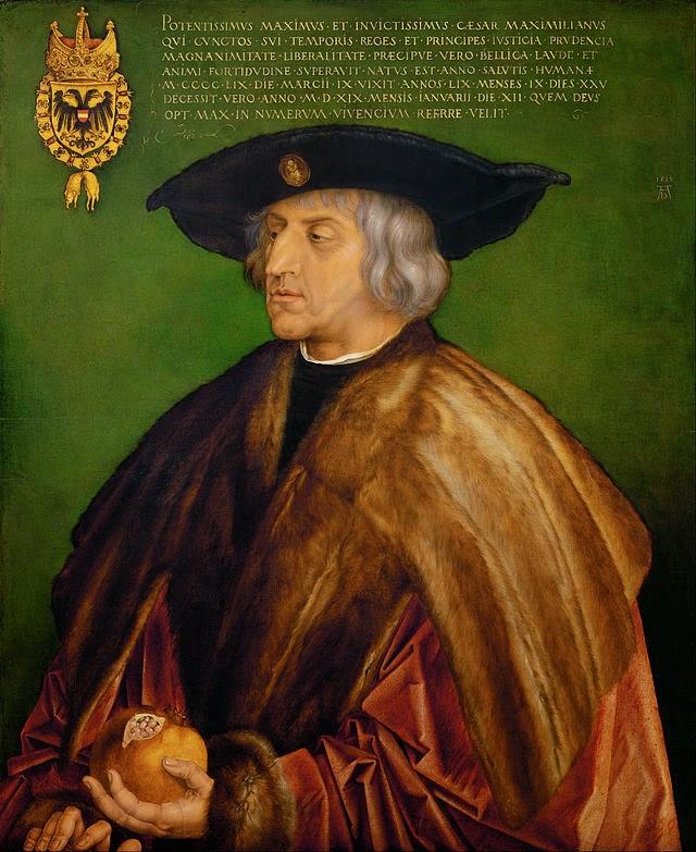 Emperor Maximilian by Albrecht Durer