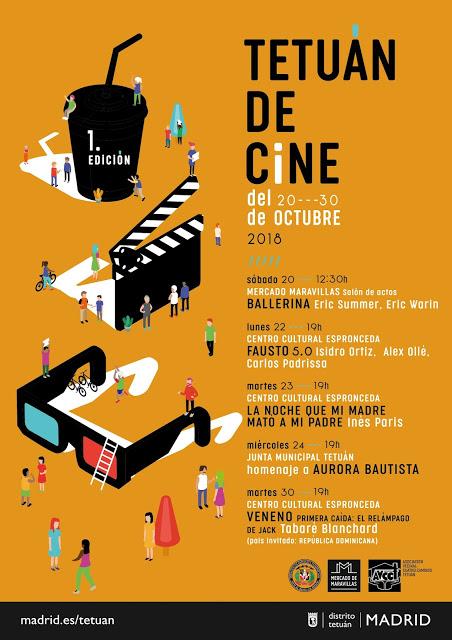 20 octubre Empieza el Festival de Cine en Tetuán
