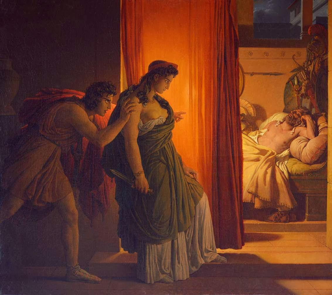 agamemnon and clytemnestra relationship problems