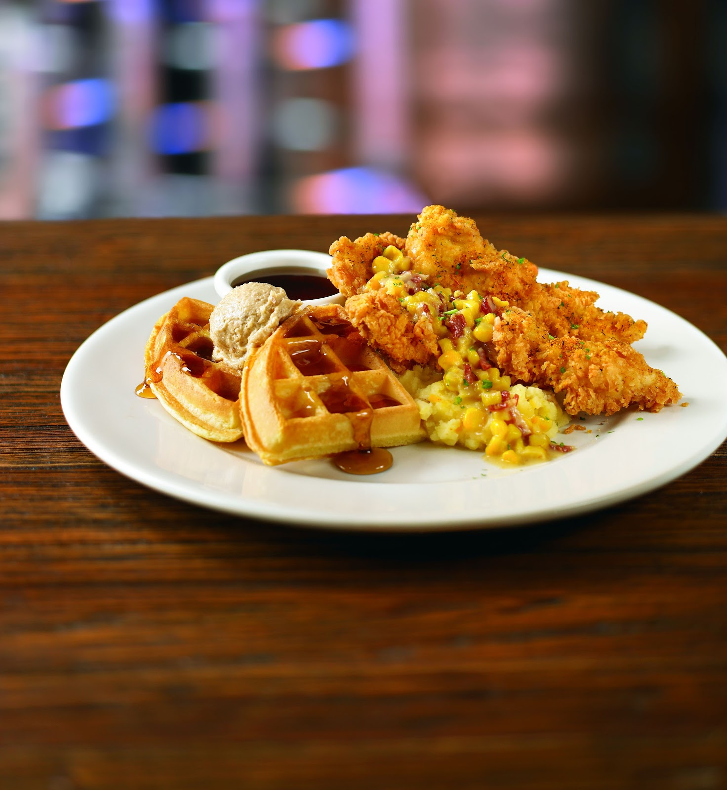 I Run For Wine: Introducing Lee Roy Selmons Chicken and Waffles