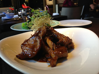 Lamb Chops in XO sauce at Hakkasan