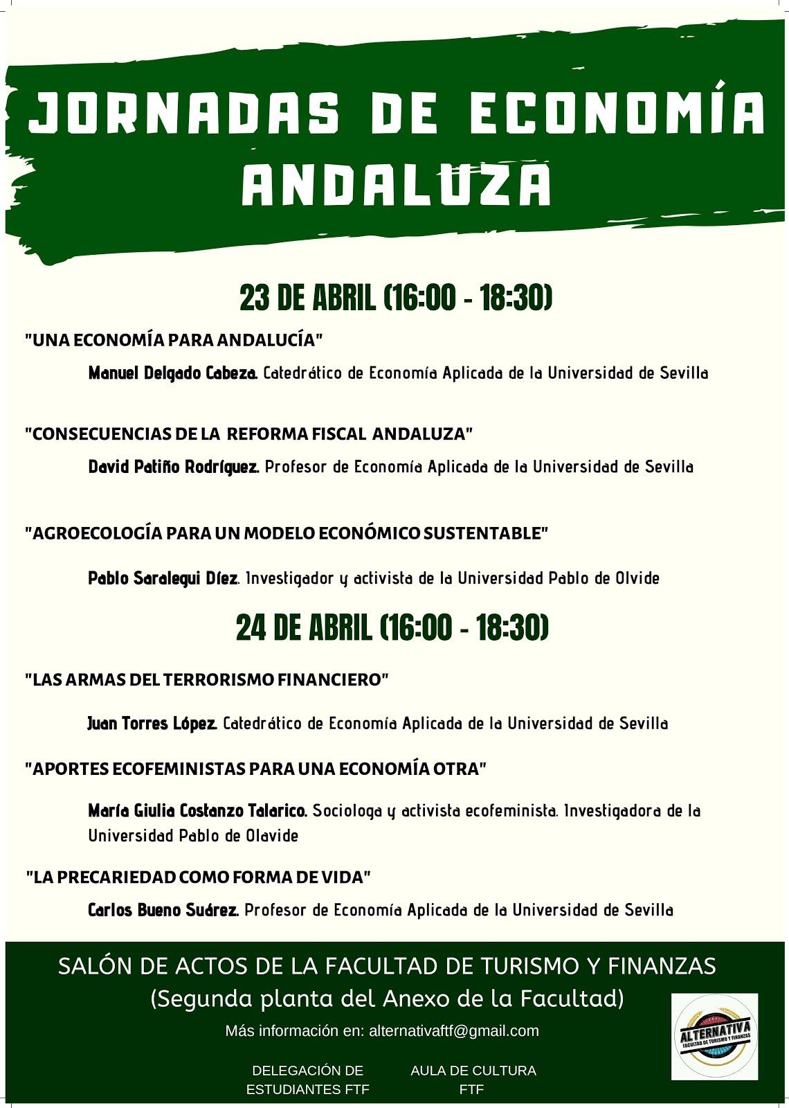 JORNADAS DE ECONOMÍA ANDALUZA